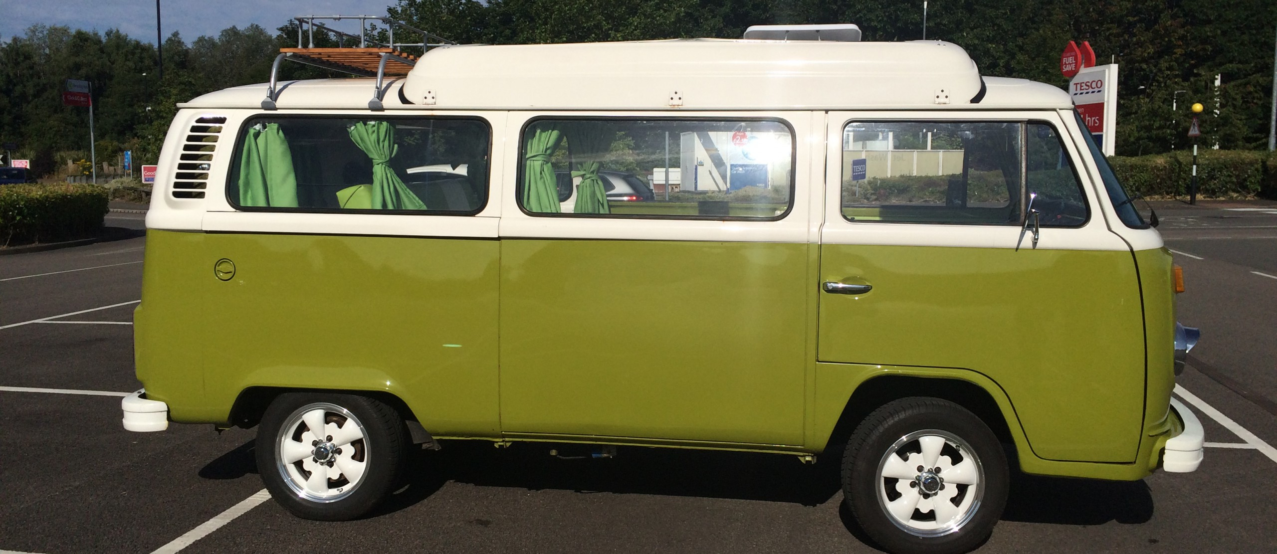 The  Adventures of Bertie the VW Campervan